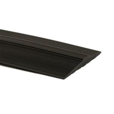 home depot flooring threshold g floor 16 ft length midnight black door threshold trim gfthresh16mb the home depot