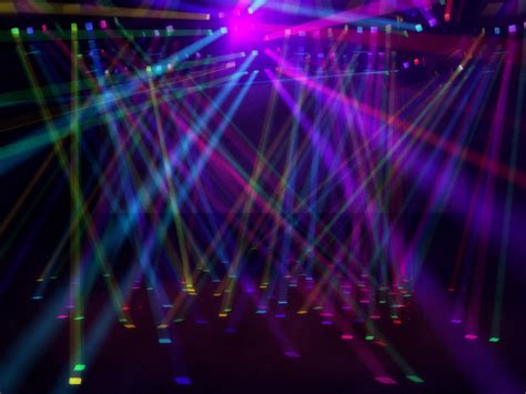 Disco Lights by Colored Disco Lights Environment 3d Model