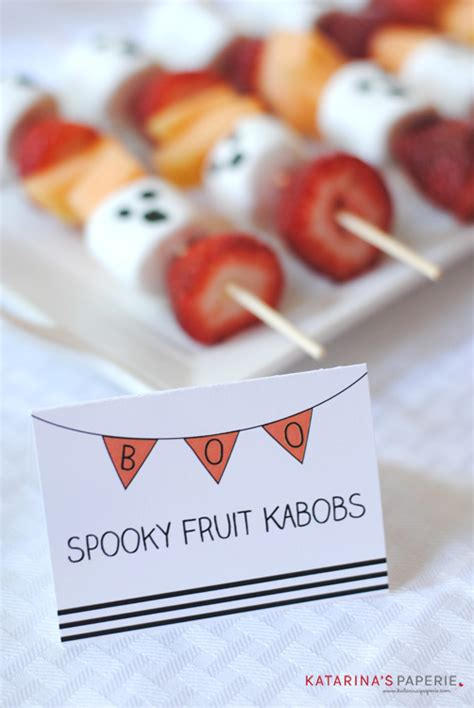 halloween ghost fruit kabobs katarinas paperie