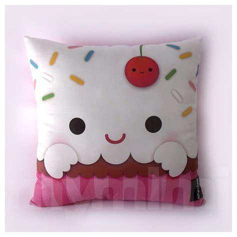 children s pillow 12 x 12 cupcake pillow stuffed room decor