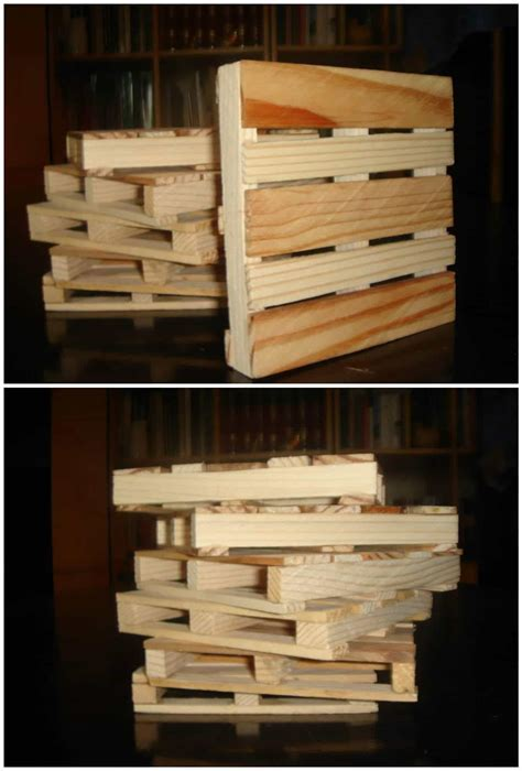 Coasters From Recycled Pallet Wood ? 1001 Pallets