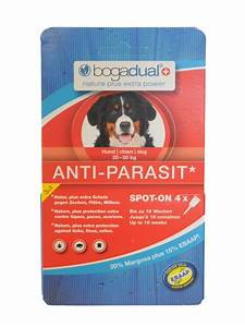 Anti Allergie Hund : bogadual flohmittel hund 4x2 5ml f r den hund bei fuetternundfit ~ Orissabook.com Haus und Dekorationen