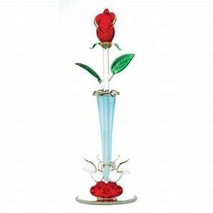 Rose In Glas : glass rose ebay ~ Frokenaadalensverden.com Haus und Dekorationen