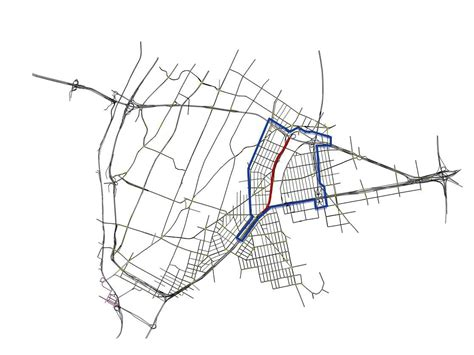 sheridan area modelling bronx microscopic mesoscopic benefits network microsimulation polygon hybrid figure inside expressway highlighted