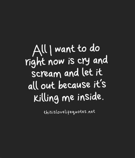 I Hate Crying Myself To Sleep Quotes