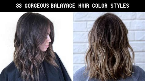 33 hair color 33 balayage hair color ideas you d to try 2017