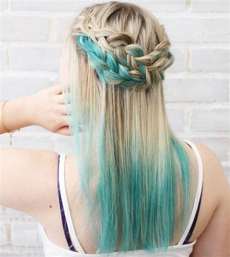 Light Hair Dye by 40 Like Blue Ombre Hairstyles Organized Chaos