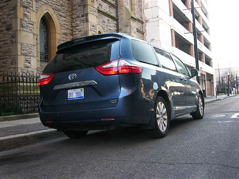 2016 Toyota Sienna Review Check Out America's Only Awd