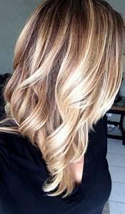 Balayage Blond Braun : balayage technik haare highlights blond braun mittellang frisch wed hair blonde haare ~ Frokenaadalensverden.com Haus und Dekorationen