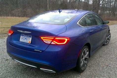 200 Hp Cars by 2015 Chrysler 200 Drive Review Autotrader