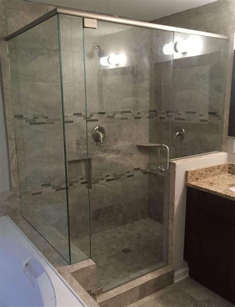 Frameless Shower by Frameless Showers With Header Frameless Shower Doors