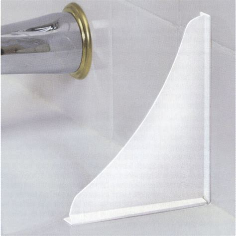 bathtub splash guard menards bath tub splash guards set of 2 in tub caddies and