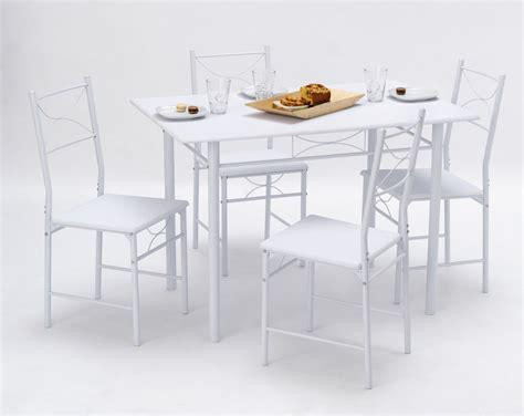 ensemble table et 4 chaises de cuisine chutney soldes cuisine promos