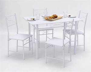 but table cuisine inspirations avec table et chaise de With deco cuisine avec design chaise