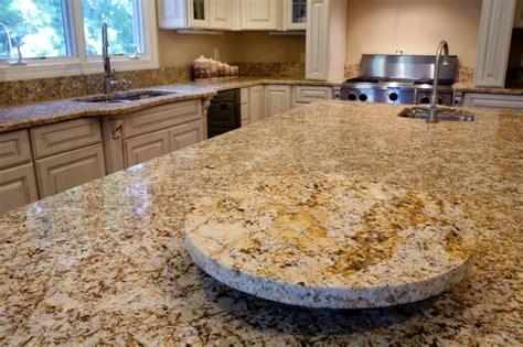 custom granite lazy susan