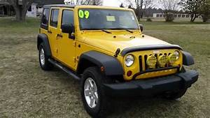 Used Car Sale Maryland 2009 Jeep Wrangler Unlimited 4 Door