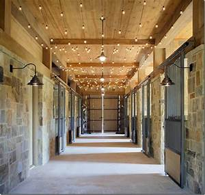 stable style aisle envy horses heels With barn stall lights