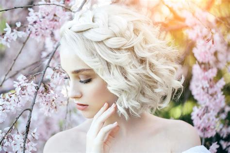 14 chic wedding hairstyles for short hair