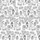 Monoline sketch template
