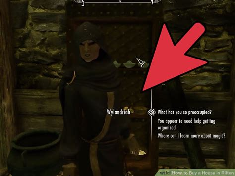How To Get A House In Riften by How To Buy A House In Riften 11 Steps With Pictures