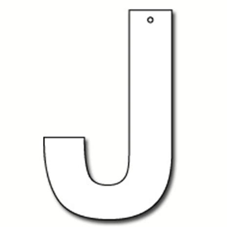 cut out letter b cardboard ea supplies cut out letter j cardboard ea supplies 12226