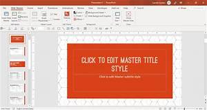 How To Create A Powerpoint Template  Step