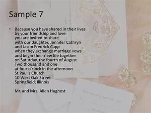 wedding invitation wording With wedding invitation wording invite you to share in the joy
