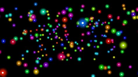 color dots seamless looping color dots random motion background
