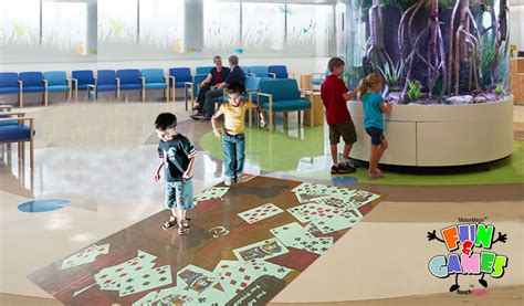 What Is Floor Technology by Motionmagix Interactive Floor Installed In Mumbai Hospital