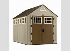 Suncast Blow Molded Storage Shed 7 Ft x 10 Ft The