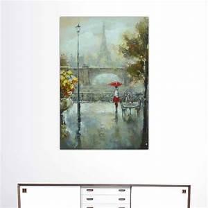 Peinture De Paris Poissy : tableau parisien vue de promenade paris wikao ~ Premium-room.com Idées de Décoration