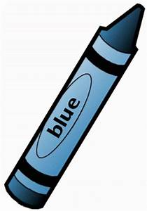 Blue Crayon Clipart | Clipart Panda - Free Clipart Images