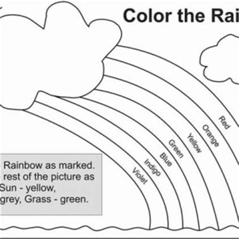 All the Happy Care Bear Welcoming the Rainbow Coloring