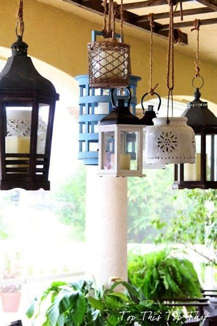 beautiful diy outdoor lights  creative lighting