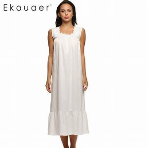 Online Buy Wholesale sleeveless cotton nightgown from ...
