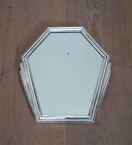 Spiegel Art Deco : art deco spiegel met zilveren rand gemerkt catawiki ~ Whattoseeinmadrid.com Haus und Dekorationen