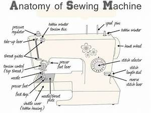 Sewing Machine Tension Assembly Diagram
