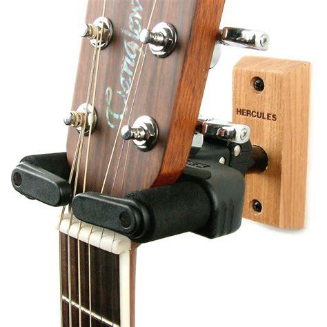 guitar wall hanger hercules guitar wall hanger wood plate guitarbitz 1521