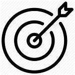 Focus Icon Target Symbol Arrow Line Success