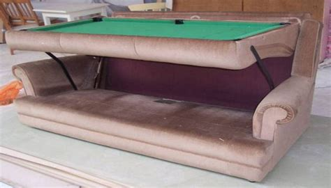 sofa pool table sofa pool table a unique invention