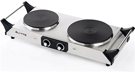 Duxtop 1800w Portable Electric Cast Iron Cooktop