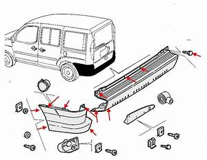 How To Remove Front And Rear Bumper Fiat Doblo 1  2000