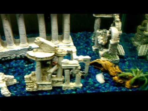 fish tank lost city  atlantis youtube