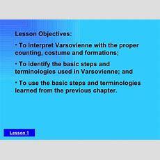C 3 Lesson 1