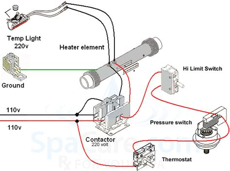 in line heater assembly 5 5 kw 240 volt