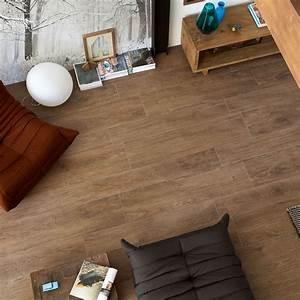 Trendwood, Oak, Natural, Glazed, Porcelain, Rectified, Floor, Tile