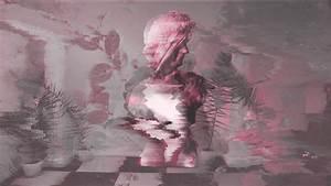 wallpaper vaporwave statue glitch wallpaper for you