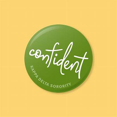 Confidence Delta Kappa Animated Buttons Graphic Initiative