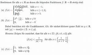 Auflagerreaktion Berechnen : stetigkeit x element r stetigkeit gau klammer mathelounge ~ Themetempest.com Abrechnung