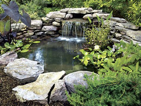 garden pond ideas pictures home and garden design